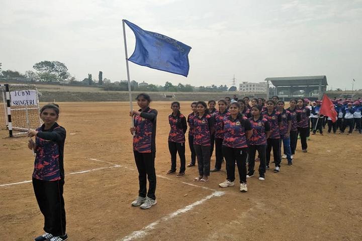 Sri Jagadguru Chandrashekhara Bharathi Memorial Pre University College -Sports Day