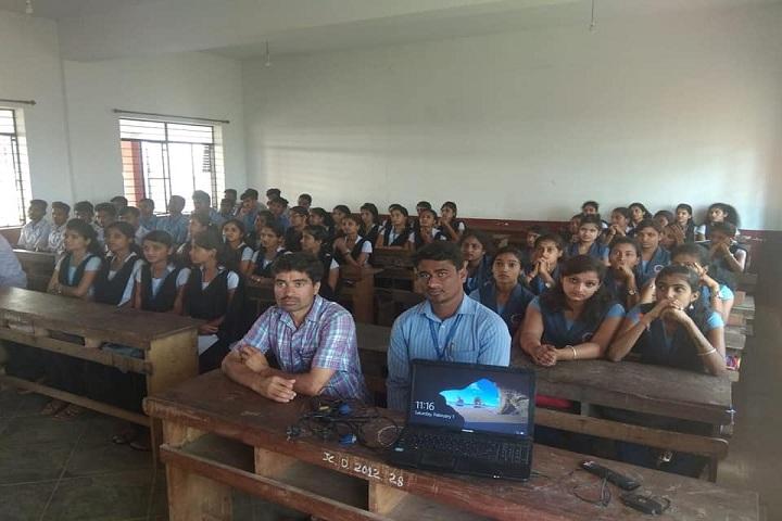 Sri Jagadguru Chandrashekhara Bharathi Memorial Pre University College-Classroom
