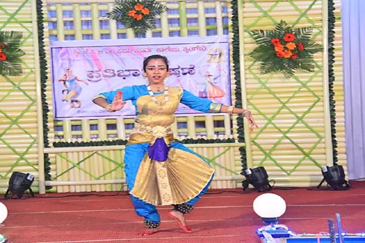 Sri Jagadguru Chandrashekhara Bharathi Memorial Pre University College-Dance