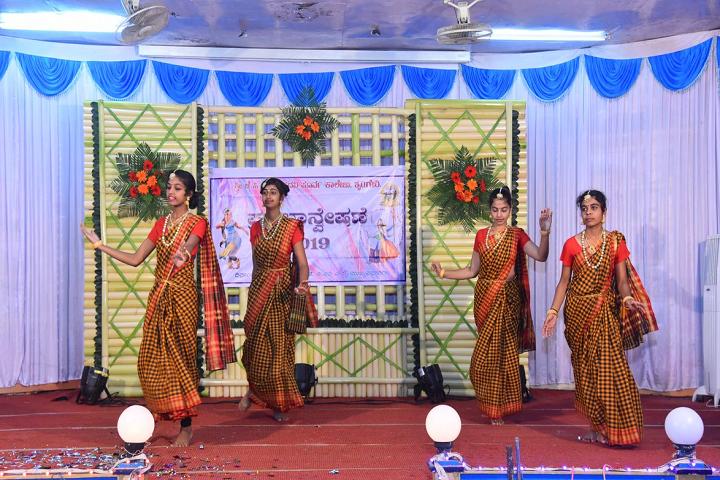 Sri Jagadguru Chandrashekhara Bharathi Memorial Pre University College-Programme