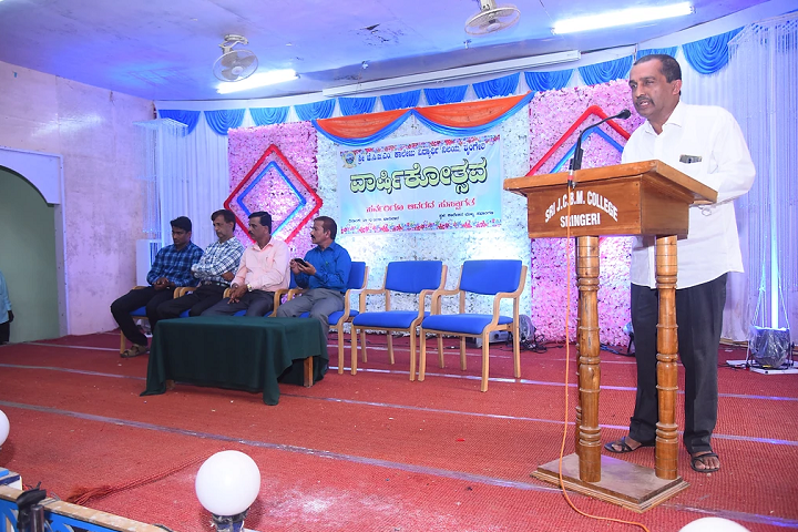 Sri Jagadguru Chandrashekhara Bharathi Memorial Pre University College-Speech