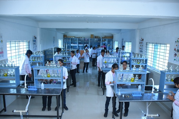 DVS Pre University College-Chemistry Laboratory