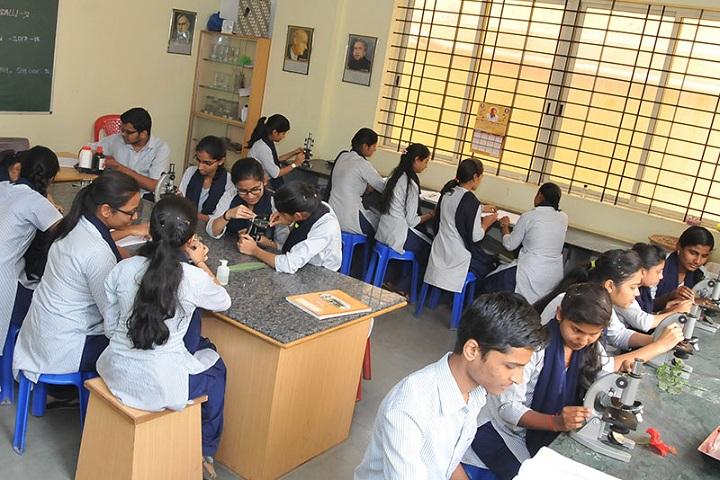 Adarsh Pre University Science College-Biology Laboratory