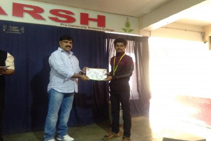 Adarsh Pre University Science College-Certificate