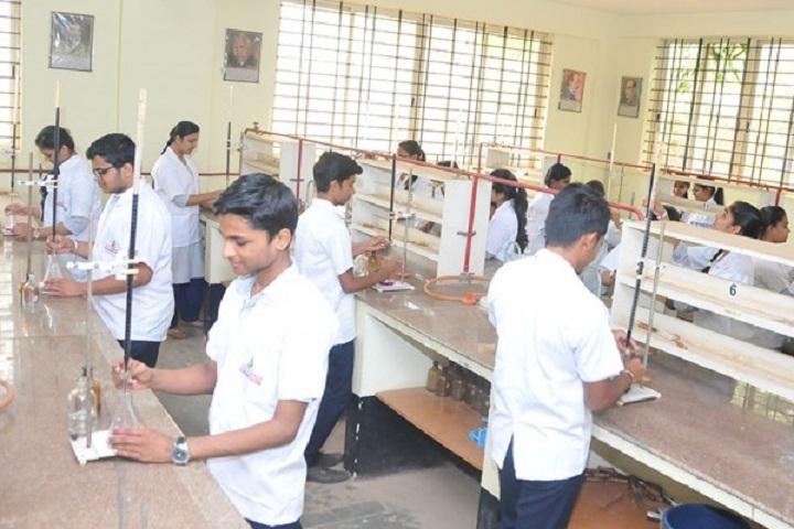 Adarsh Pre University Science College-Chemistry Laboratory