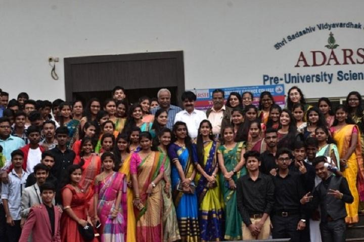 Adarsh Pre University Science College-Teachers Day
