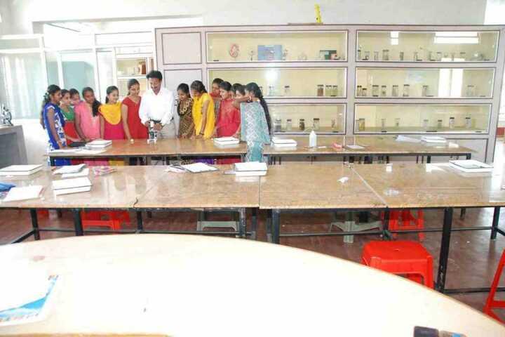 Vishwamanava Pre-University College-Biology Lab
