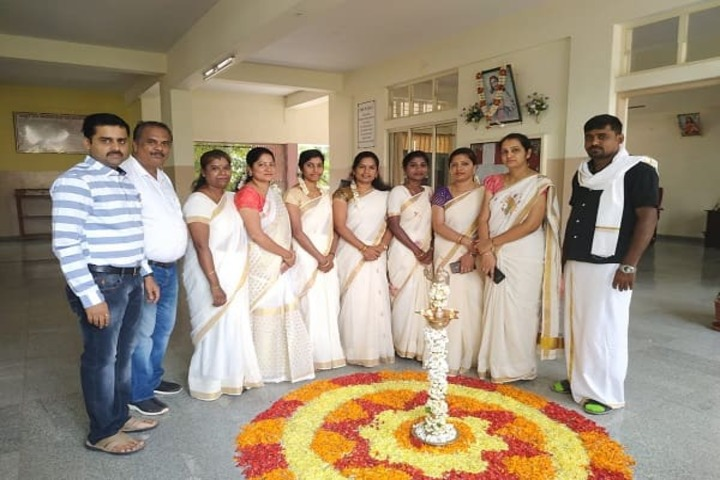 Carmel Girls Pre-University College-Onam Celebration
