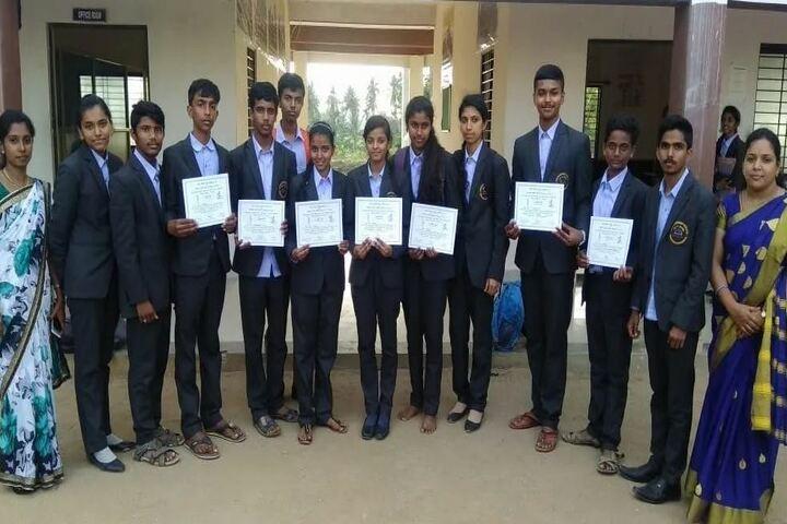 Aradhana Pre-University College-Award