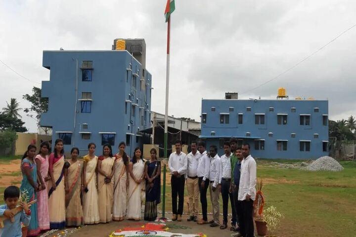 Aradhana Pre-University College-Republic Day