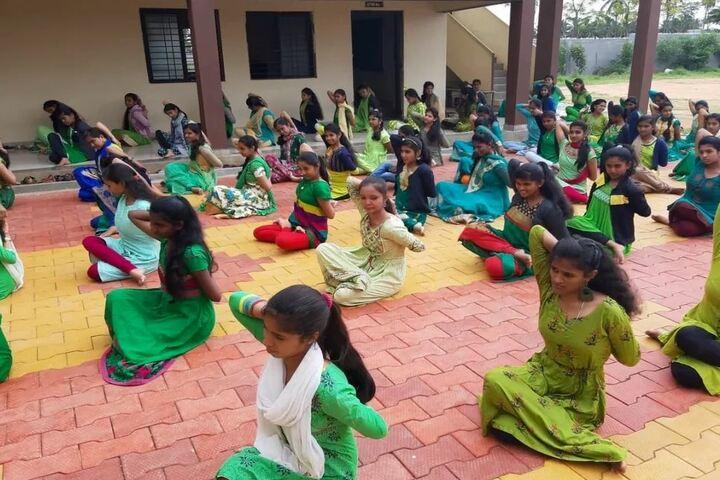 Aradhana Pre-University College-Yoga
