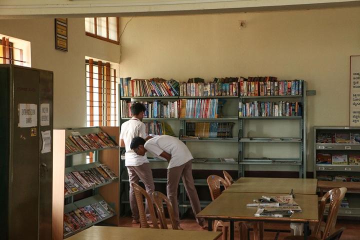 Vivekananda Pre University College-Library View