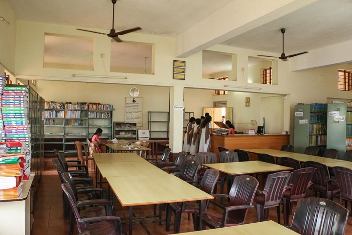 Vivekananda Pre University College-Library