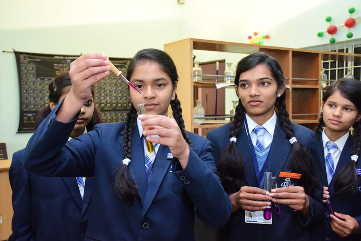 Rise And Shine Convent School-Chemistry Lab