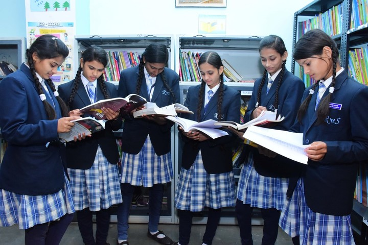 Rise And Shine Convent School-Library