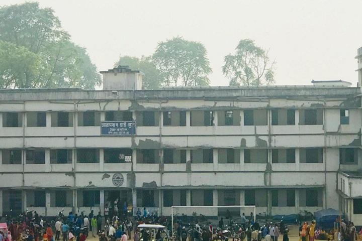 Arambagh High School-College Building