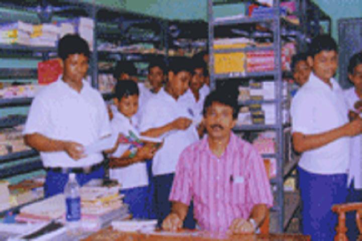 Arambagh High School-Library