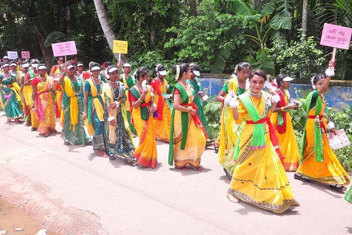 Garalgacha Balika Vidyalaya-Rally