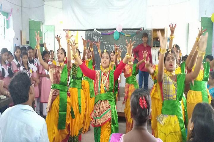Garalgacha Balika Vidyalaya-Teachers Day