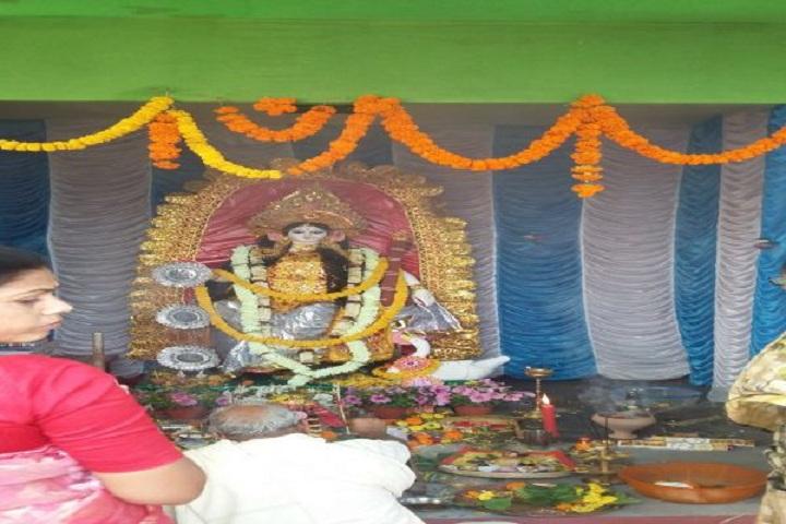 Nabagram Hirala Paul Balika Vidyalaya-Puja