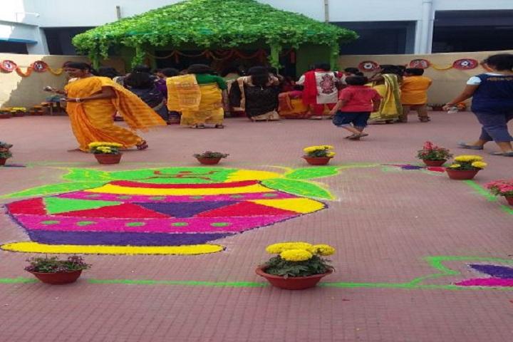Nabagram Hirala Paul Balika Vidyalaya-Rangoli