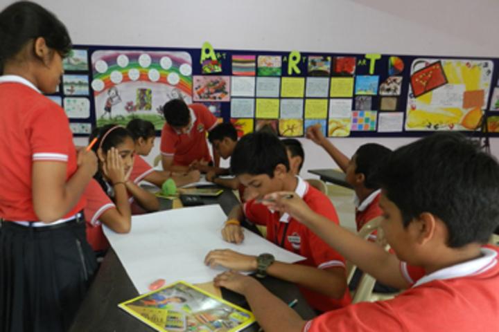 Rungta International School-Art Room