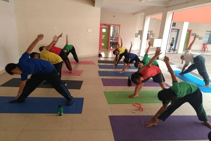 Rungta Public School-Yoga