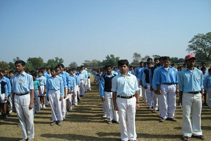 Ramakrishna Mission Vidyabhavan High School-Assembly