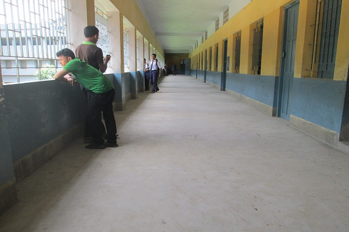 Bandel St Johns High School-Campus Inside View
