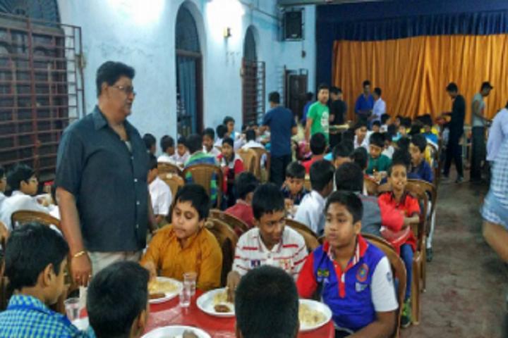 Sodepur High School-Eating
