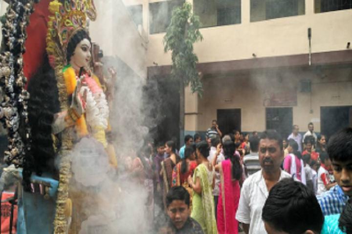 Sodepur High School-Puja Prayer