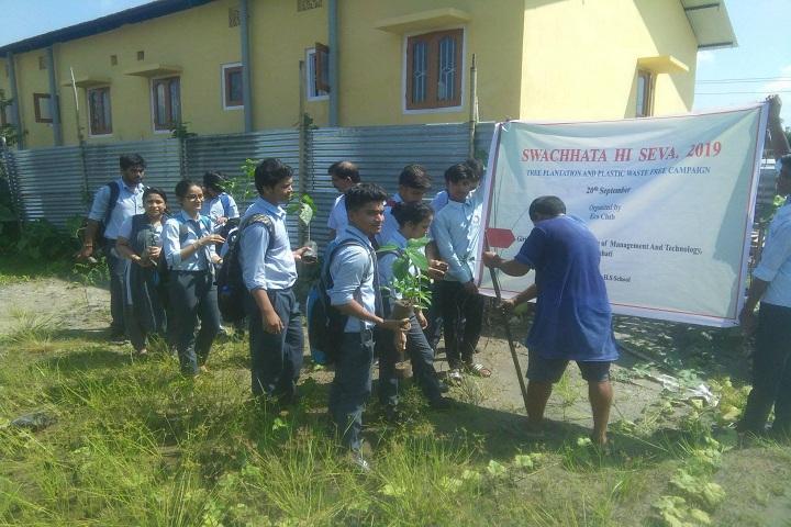 Dharapur Higher Secondary School-Plantation