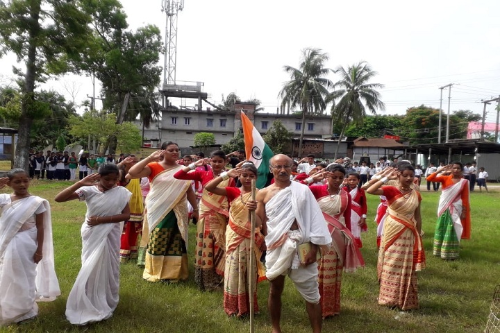Dadara Higher Secondary School-Independance Day