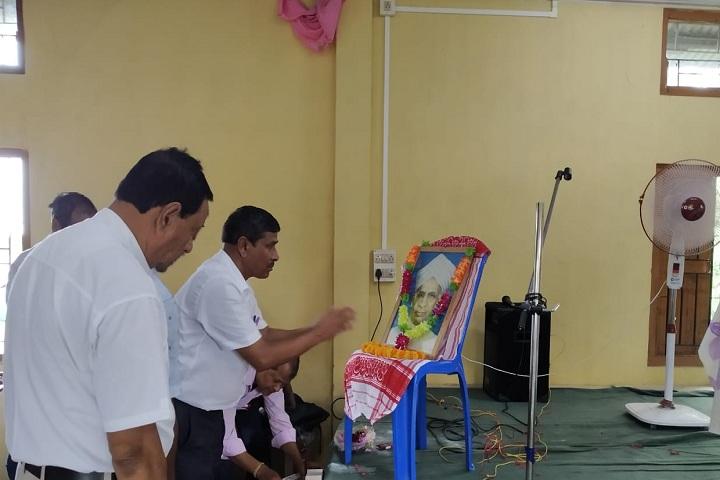 Dadara Higher Secondary School-Teachers Day