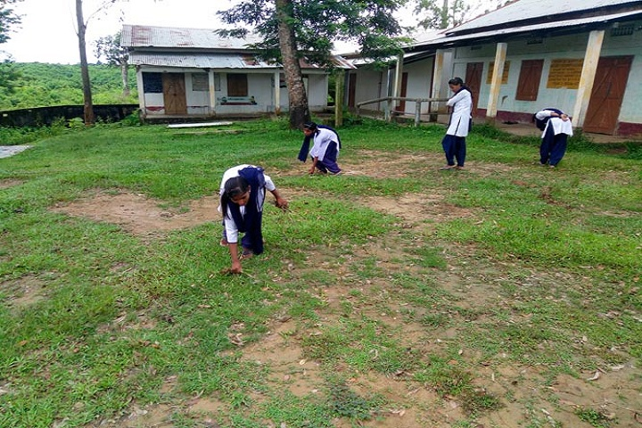 Nehru Vidyapith High School-Cleanliness Drive
