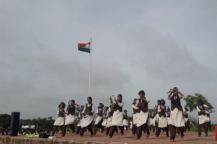 Dr Chandrabhanu Sonvane Junior College-Independance Day Programme