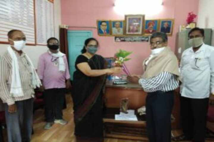 Arts Commerce and Science College-Guest Inviting