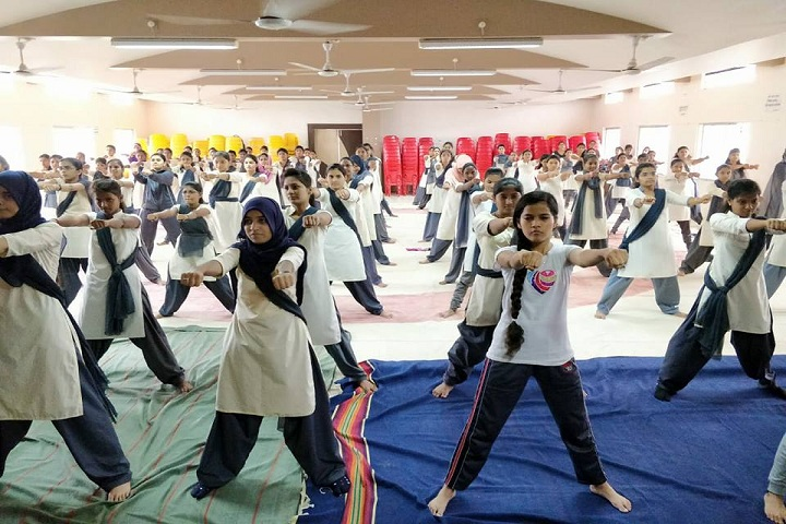 Walchand College of Arts and Science-Yoga