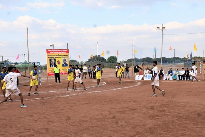 D B F Dayanand College of Arts and Science-Handball