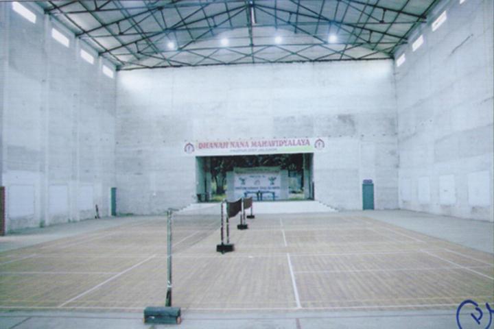 Dhanaji Nana Mahavidyalaya-Hall