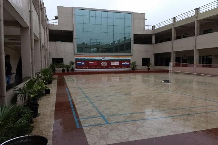 Sainik School-Inside School View