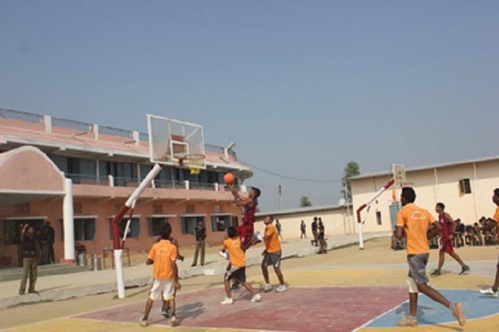 Sainik School-Sports Basket ball