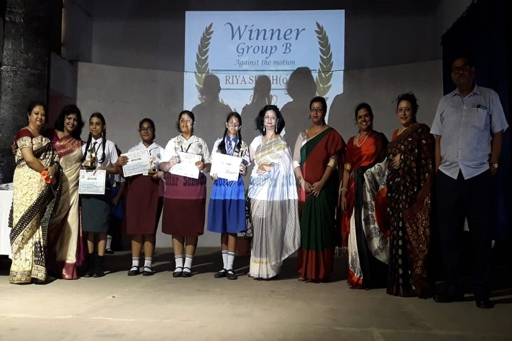 Hind Motor High School-Debate Competition Winner
