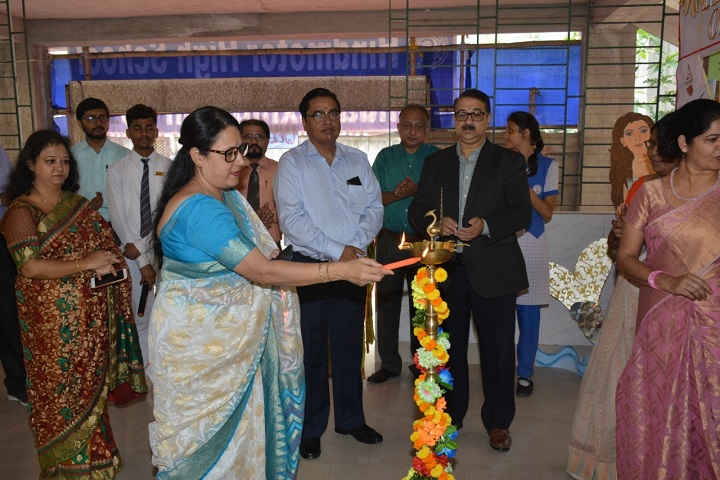 Hind Motor High School-Lighting The Lamp