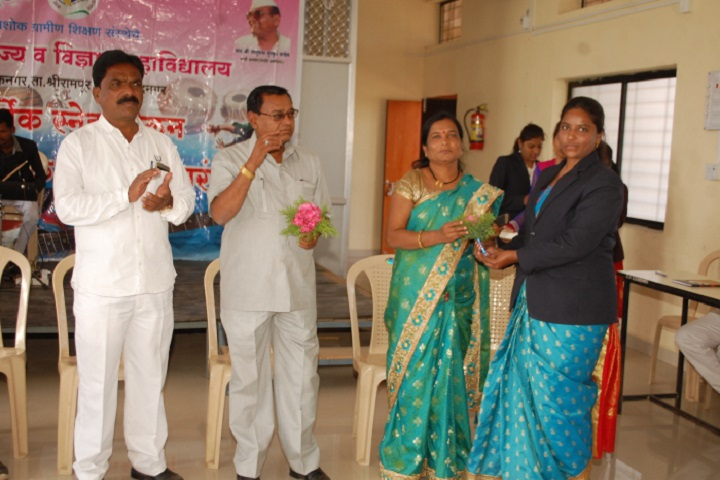 Arts, Commerce and Science College-Teachers Day Celebration