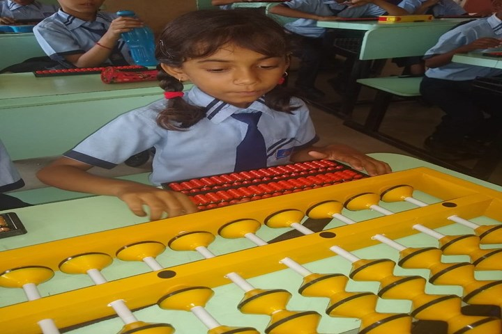 Sanskar City International School-Maths Lab