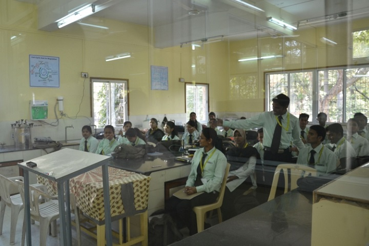 New Arts, Commerce and Science College-Biology Lab