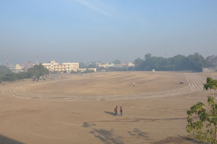 New Arts, Commerce and Science College-Play Ground View