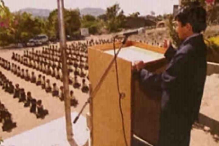 Dharmavir Anand Dighe English Medium School-Speech