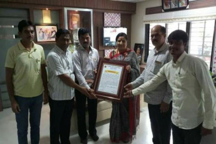 Kesharbai Sonajirao Kshirsagar Alias kaku College of Arts Science and Commerce-Award